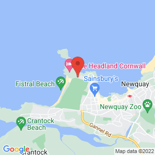Coasteering Newquay Location Map