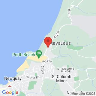 Zorbing Newquay Location Map