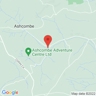 Quad Biking Ashcombe, Devon Location Map