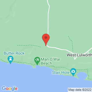 Coasteering Wareham, Dorset Location Map