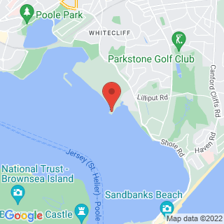 Jet Skiing  Poole Location Map