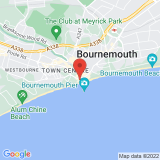 Zip Wire Bournemouth, Dorset Location Map