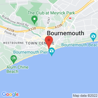 Climbing Walls Bournemouth, Dorset Location Map