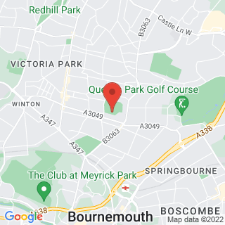 Combat Archery Bournemouth Location Map