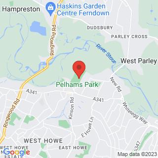 Bubble Football Kinson Location Map