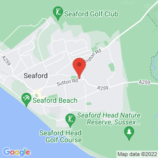 Combat Archery Seaford, East Sussex Location Map