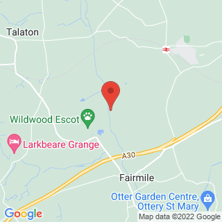 4x4 Off Roading Honiton Location Map