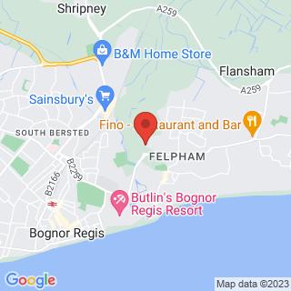 Combat Archery Bognor Regis Location Map