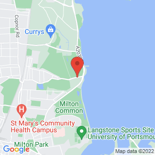 Bubble Football Portsmouth Location Map