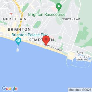 Zip Wire Brighton  Location Map