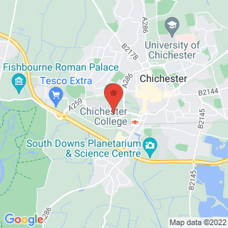 Combat Archery Chichester, West Sussex Location Map