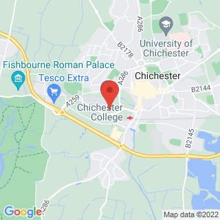 Combat Archery Chichester, West Sussex Location Map