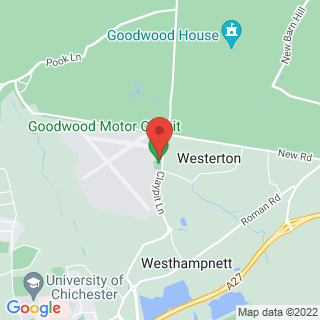 Helicopter Lessons Chichester, West Sussex Location Map