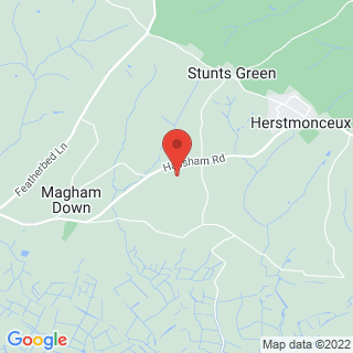 Falconry Herstmonceux, East Sussex Location Map
