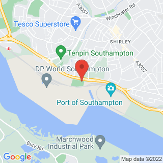 Combat Archery Southampton Location Map