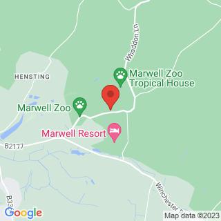 Archery Winchester, Hampshire Location Map