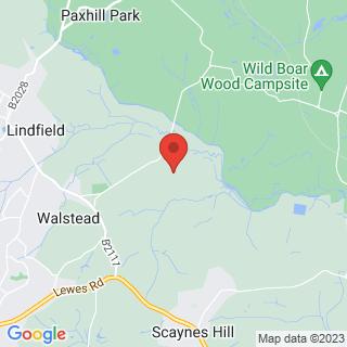 Bubble Football Haywards Heath Location Map