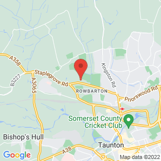 Bubble Football Taunton North Location Map