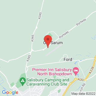 Skydiving Salisbury, Wiltshire Location Map