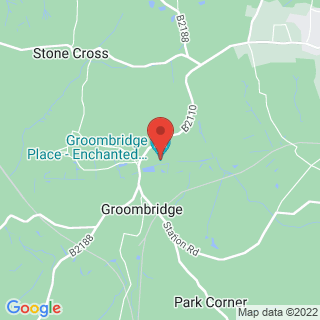 Birds Of Prey Groombridge Location Map