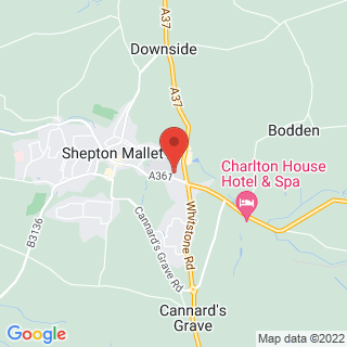 Combat Archery Shepton Mallet, Somerset Location Map