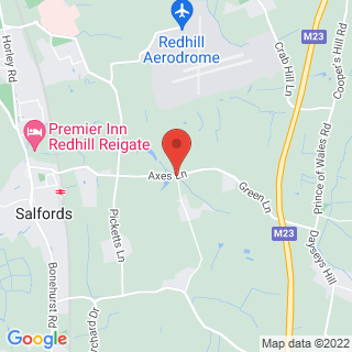 4x4 Off Road Driving Redhill Location Map