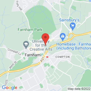 Combat Archery Farnham, Surrey Location Map