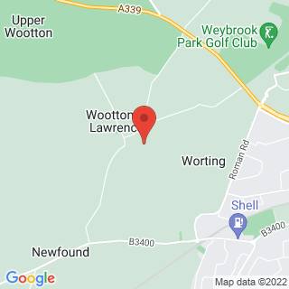 Clay Pigeon Shooting Oakley, Hampshire Location Map