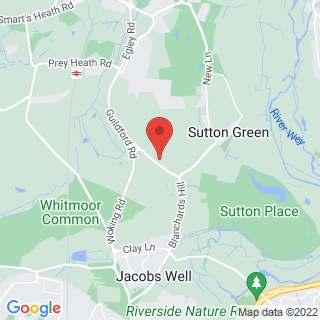 Archery Guildford, Surrey Location Map