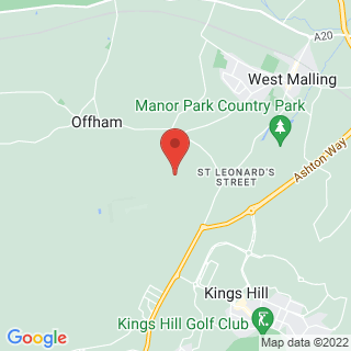 4x4 Off Roading West Malling Location Map