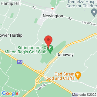 Air Rifle Ranges Sittingbourne, Kent Location Map
