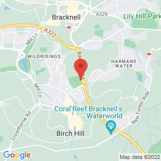 Bubble Football Bracknell Location Map