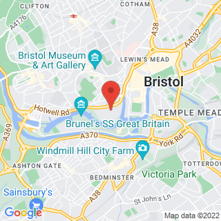 Escape Games Bristol Location Map