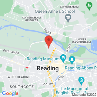 Laser Clay Shooting Reading Location Map