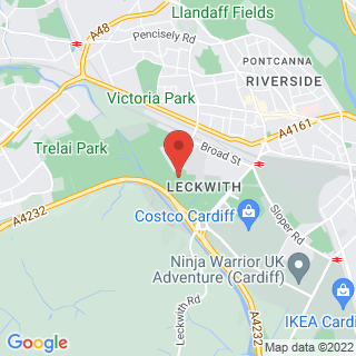Combat Archery Cardiff, Leckwith  Location Map