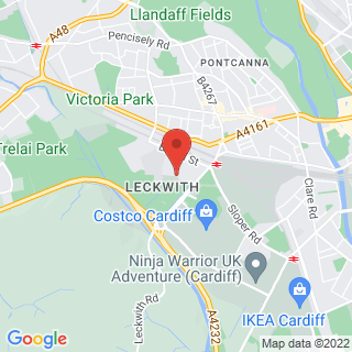 Combat Archery Cardiff Location Map