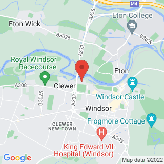 Bubble Football Windsor Location Map