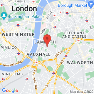 Bubble Football Lambeth Location Map