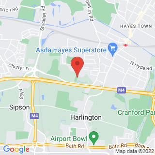 Combat Archery Heathrow, Middlesex Location Map