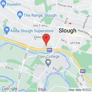 Bubble Football Slough, Berkshire Location Map