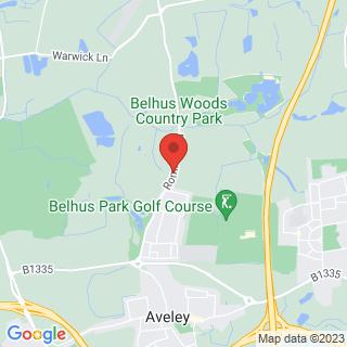 Segway London, Belhus Woods Location Map