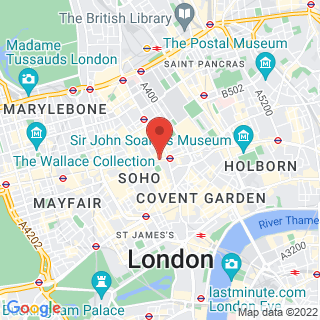 Escape Games London, Oxford Street Location Map
