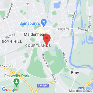 Karting Maidenhead Location Map
