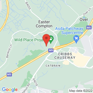 Clay Pigeon Shooting Cribbs Causeway Location Map