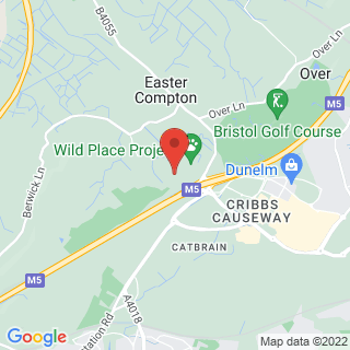 Quad Biking Cribbs Causeway Location Map