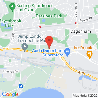 Combat Archery Dagenham Location Map