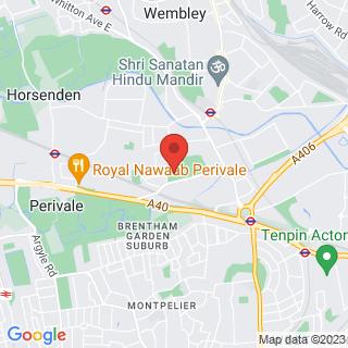Bubble Football Wembley Location Map