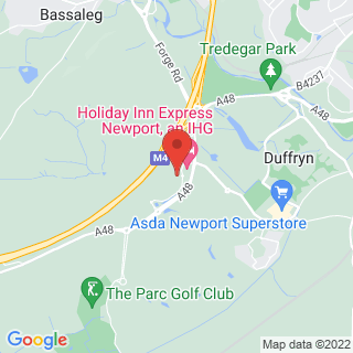 Clay Pigeon Shooting Cardiff - Newport Location Map