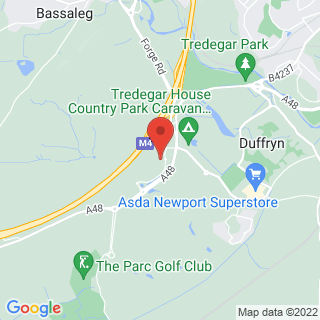 Clay Pigeon Shooting Newport Location Map