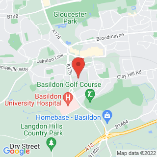 Bubble Football Basildon Location Map
